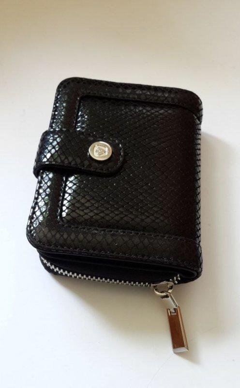 Кожаный женский кошелек mini