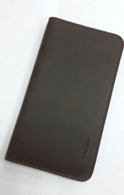 Кожаный кошелек c отделением для телефона Valenta