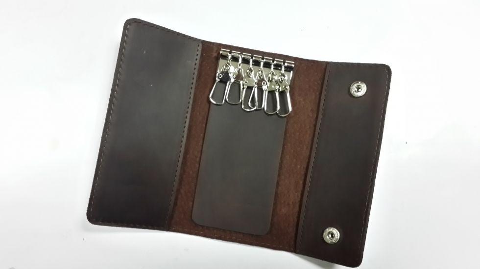 Кожаный футляр для ключей Valenta