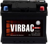 Аккумулятор Virbac Classic 6CT-60R+