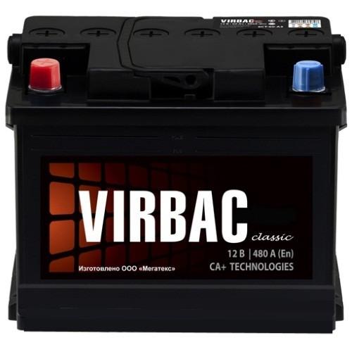 Аккумулятор Virbac Classic 6CT-60L+