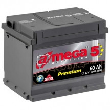 Аккумулятор Amega Premium Правый6CT-60R+