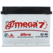 Аккумулятор Amega Ultra Правый 6CT- 62R+