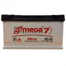 Аккумулятор Amega Ultra Левый 6CT- 105L+