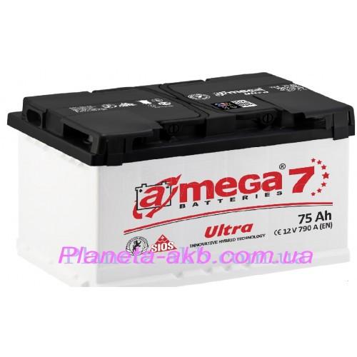 Аккумулятор AMEGA  Ultra 6СТ-75 АзЕ