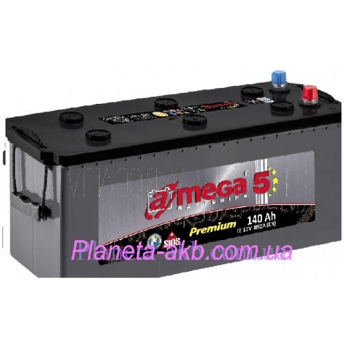 Аккумулятор AMEGA Premium 6СТ-140 Аз