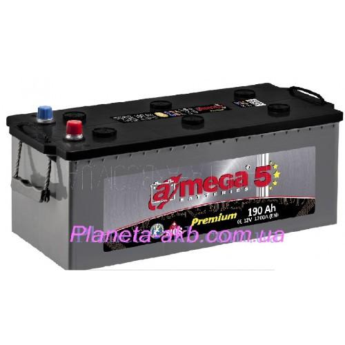 Аккумулятор AMEGA Premium 6СТ-190 Аз