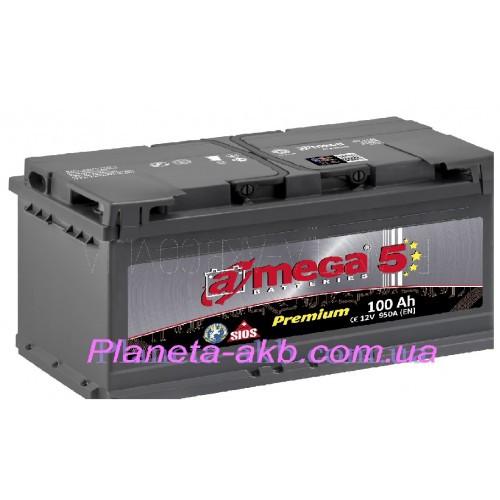 Аккумулятор AMEGA Premium 6СТ-100 Аз