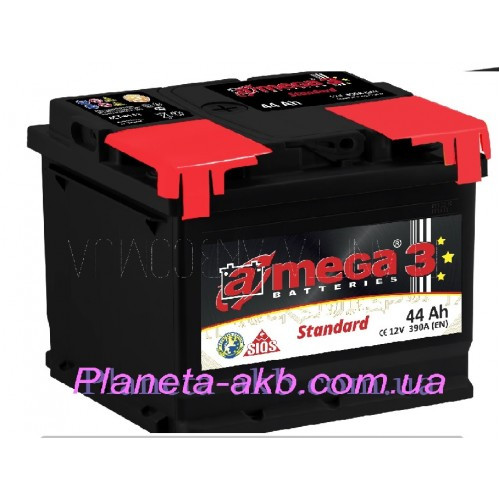 Аккумулятор AMEGA Standart 6СТ-44 Аз