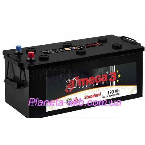 Аккумулятор AMEGA Standart 6СТ-190 Аз