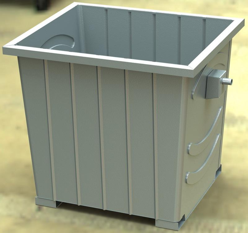 购买垃圾桶, 价格 , 图片