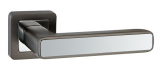 Ручка дверная MARS QR GR/CP-23 графит/хром