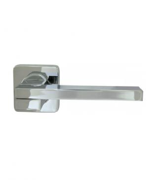 Ручка дверная Sena-SQ002-21SN-3 Хром