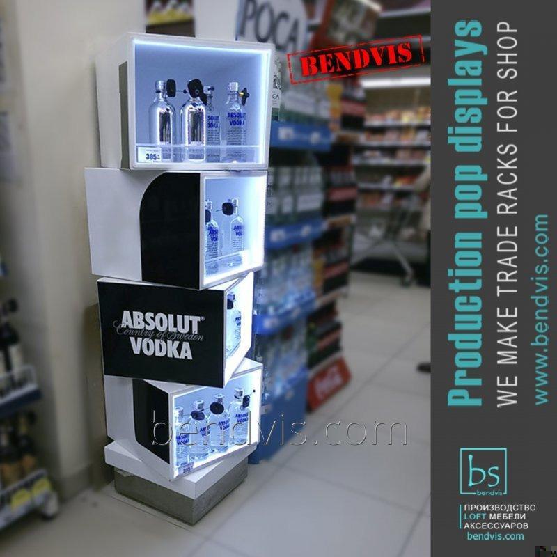 Торговый стенд ABSOLUT