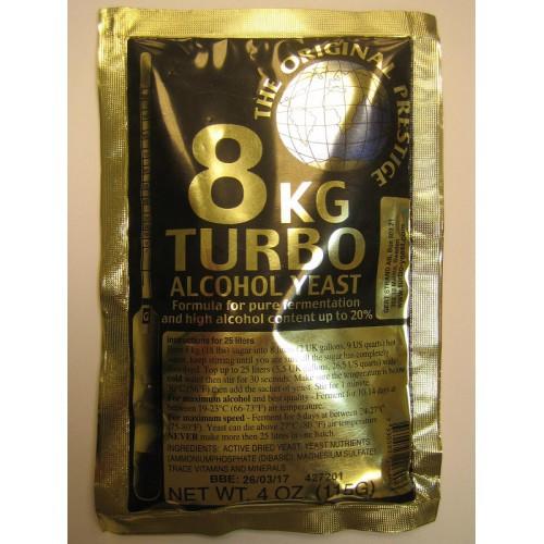 Prestige дрожжи турбо 8 kg Turbo 18-20%