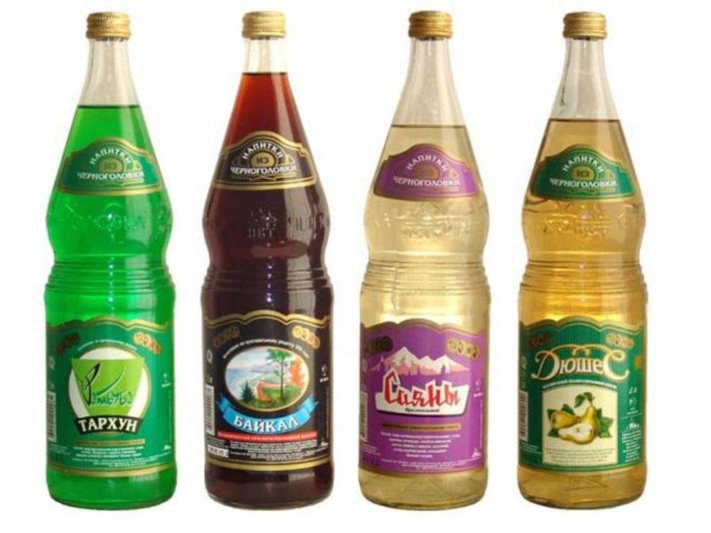 Самоклеящаяся этикетка для безалкогольных напитков