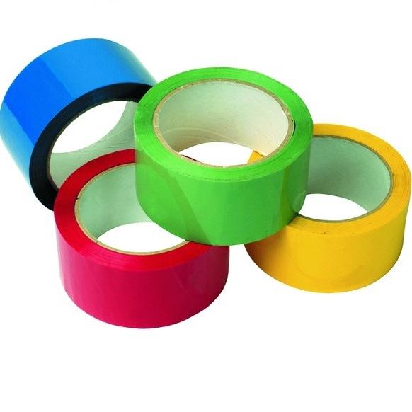 Скотч цветной (клейкая лента упаковочная цветная)