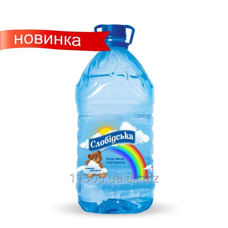Купить Вода питьевая природная негазированная Детская 6 л