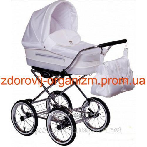 Коляска универсальная Lonex Classic Ecco E-White Groch