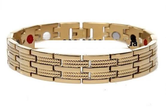 Турмалиновый магнитный браслет PENTACTIV GOLD