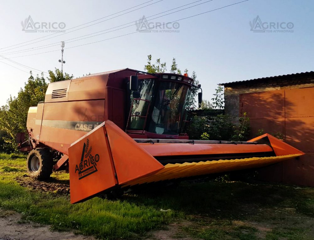 Безрядная жатка на соняшник ЖНС на Кейс, Торум