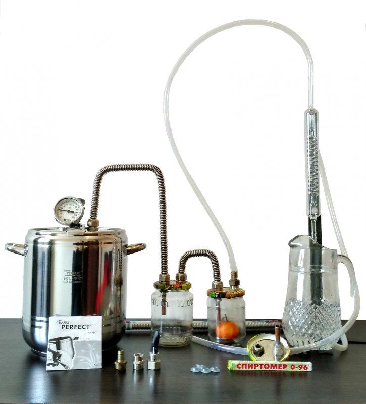 Купить самогонный аппарат из нержавеющей стали с 2 сухопарниками купить самогонный аппарат schnapser х2