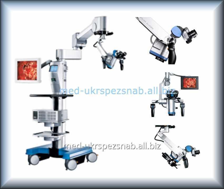 Купить Микроскоп операционный для ЛОР хирургии Moller HS ALLEGRA 500
