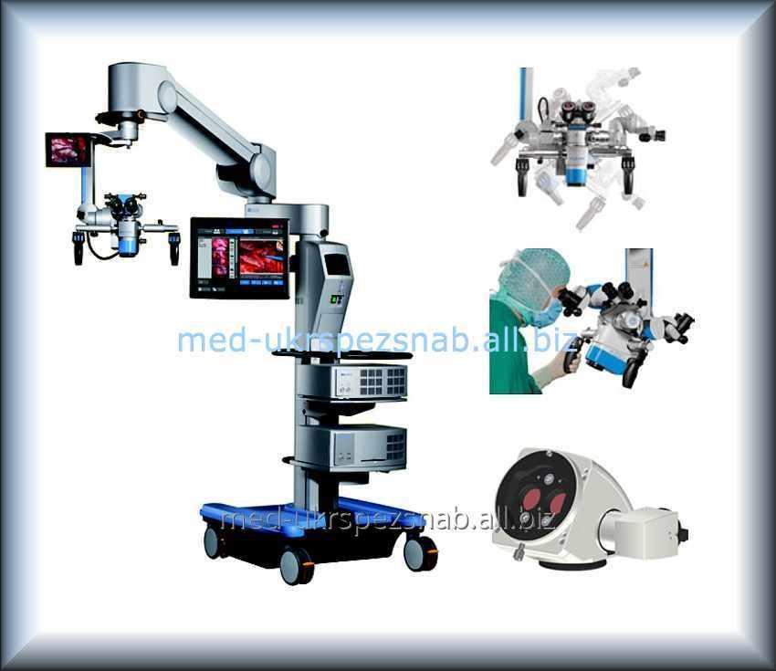 Купить Микроскоп операционный для нейрохирургии и ЛОР хирургии Moller HS Hi-R 700