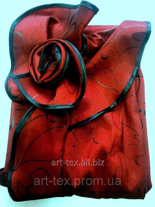 """Платье ритуальное №6 """"Роза""""-тафта бордо"""