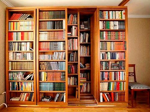 Купить Шкафы библиотечные на заказ Украина