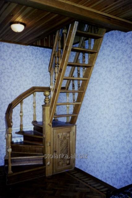 Купить Красивые маршевые лестницы для коттеджей
