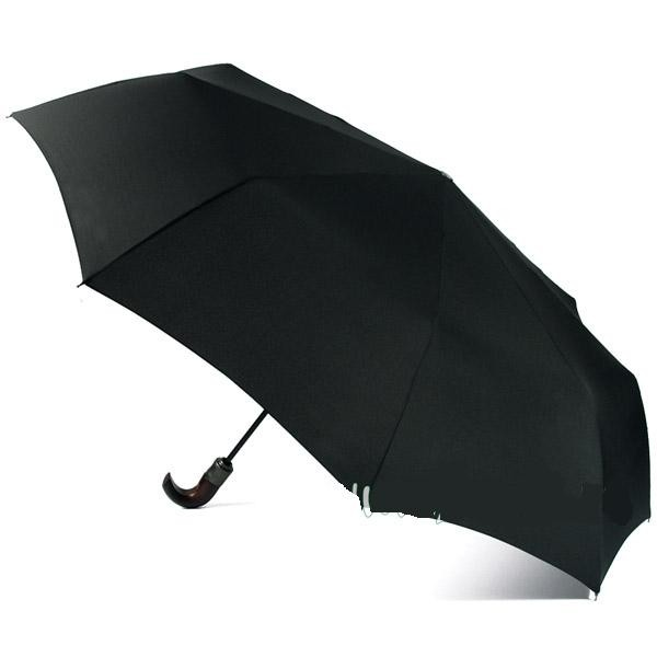 Зонт мужской Zest полный автомат с деревянной ручкой. art.13940