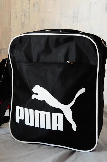 Спортивная, повседневная сумка Puma. модель Планшет