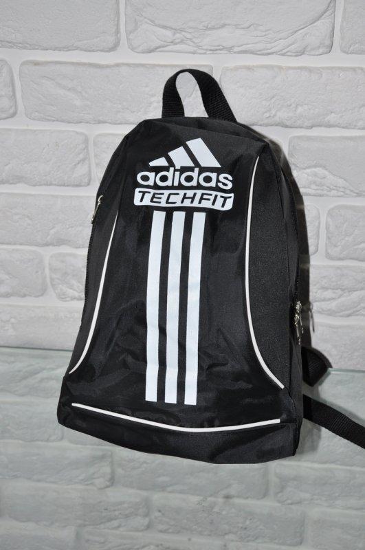 3772ff287df3 Спортивный рюкзак Adidas R-88. черный+белый.Небольшой женский/детский рюкзак