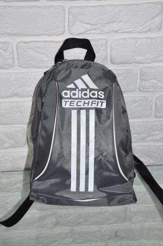871a12a8b1c1 Спортивный рюкзак Adidas R-88. серый+белый.Небольшой женский/детский рюкзак