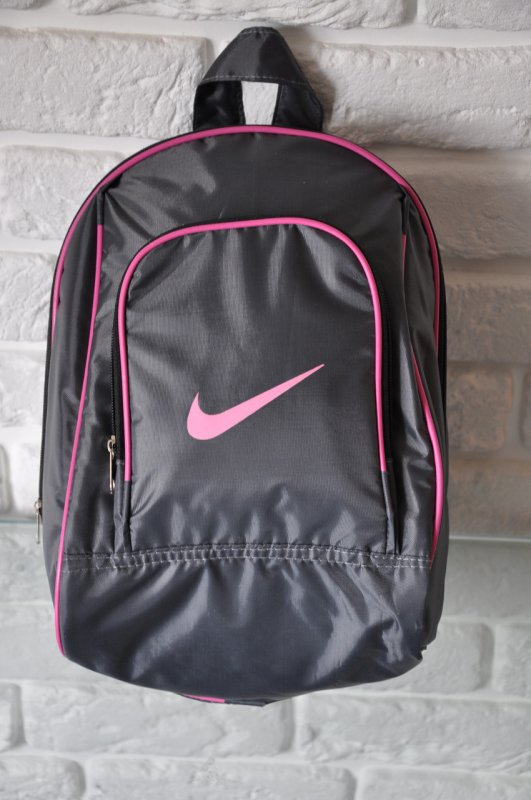 de505b4c Sports backpack of Nike R-99. (gray + pink). Small female/children's  backpack