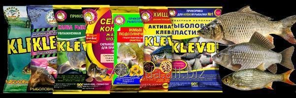 Купить Рыболовные прикормки KLEVO