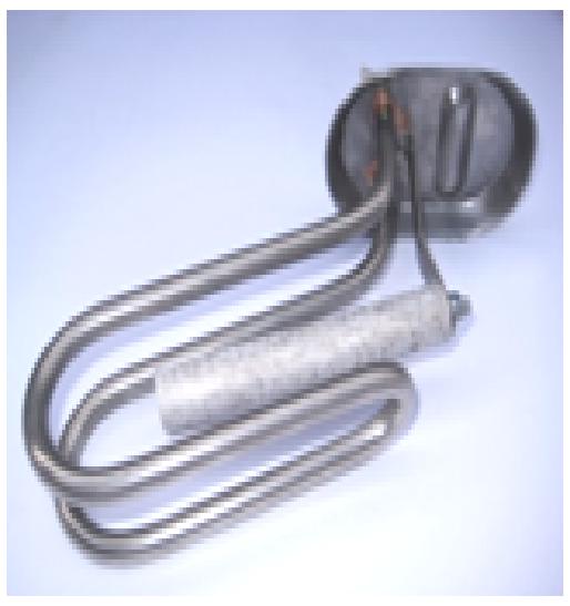 Купить Тен 1500 W фланец овал большой Ariston, отверстие d8 под анод, нержавейка, Turkey, 008 SNL MTS