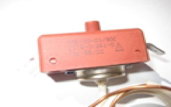 Купить Термостат защитный капилярный, с кнопкой, 95*С. MMG Hungary, 1481 HU