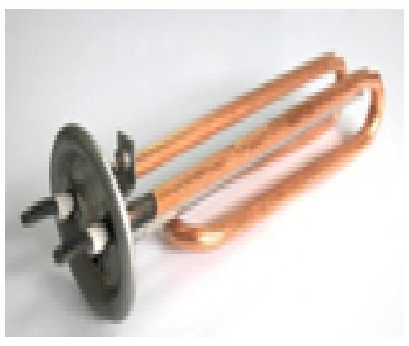 Купить Тен 2000 W (1) фланец d63, резьба под анод М6, 1/9/170, медь. GR Україна , M6320-1-U GR 13