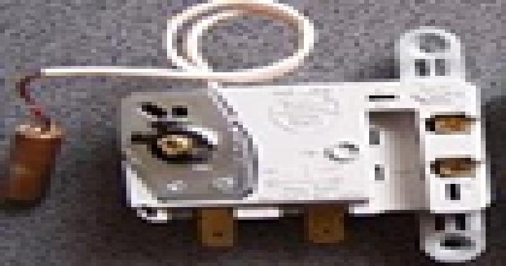Купить Терморегулятор с выключателем, с лампой и тепловой защитой 78/103*С, Italy, TBST16A