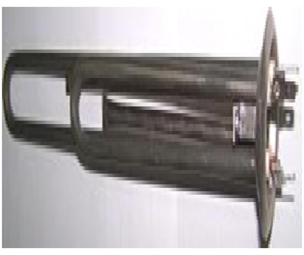 Купить Тен 2000 W (700+1300), фланец d63, резьба под анод М4, нержавейка. , Н631307 TW