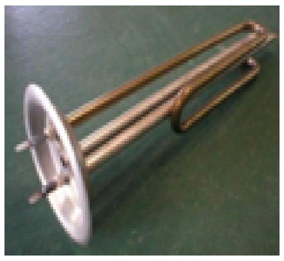 Купить Тен 2000 W фланец d93 (1), резьба под анод М6, нержавейка. , Н9320 TW