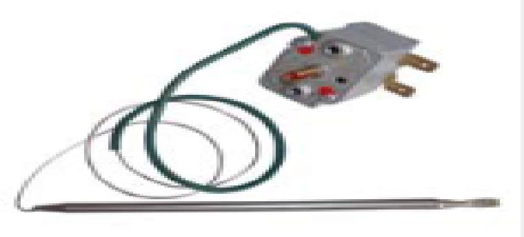 Купить Терморегулятор капилярный, для конвектора, 7-30*С, 16А, 12600614