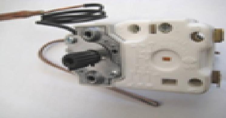 Купить Терморегулятор 2-х капилярный, 20А, 0,6м, ТЗ 95°С с кнопкой. Coherm France, ET 152/1 T Atl