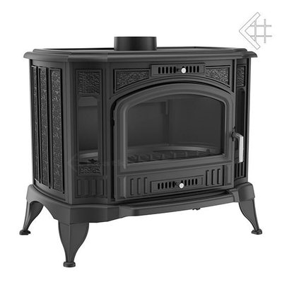 Fireplace with water jacket K9 KOZA