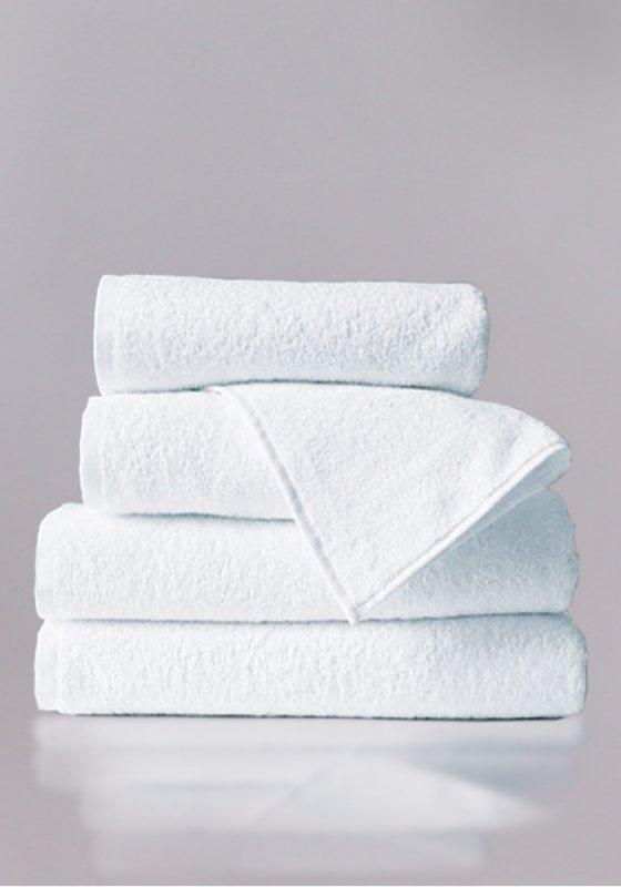 Махровое полотенце без борта