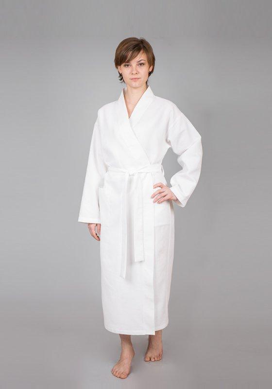 Махровые и вафельные халаты