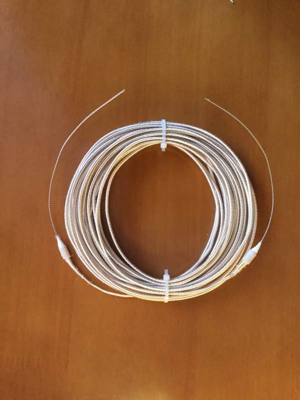 Кабельный электронагреватель для электрообогреваемых панелей