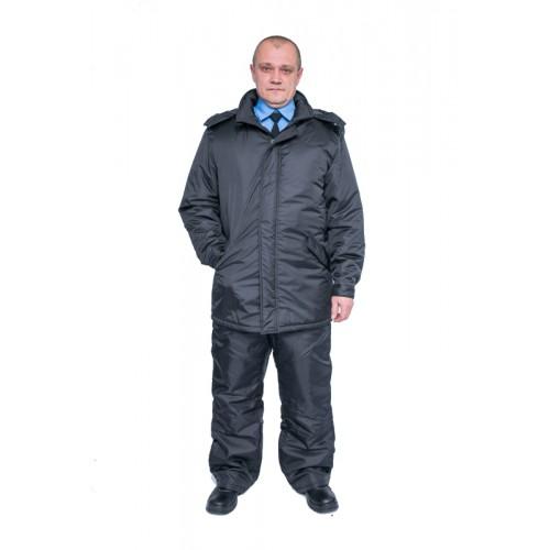 Куртка утепленная Аскольд черная арт.: 515